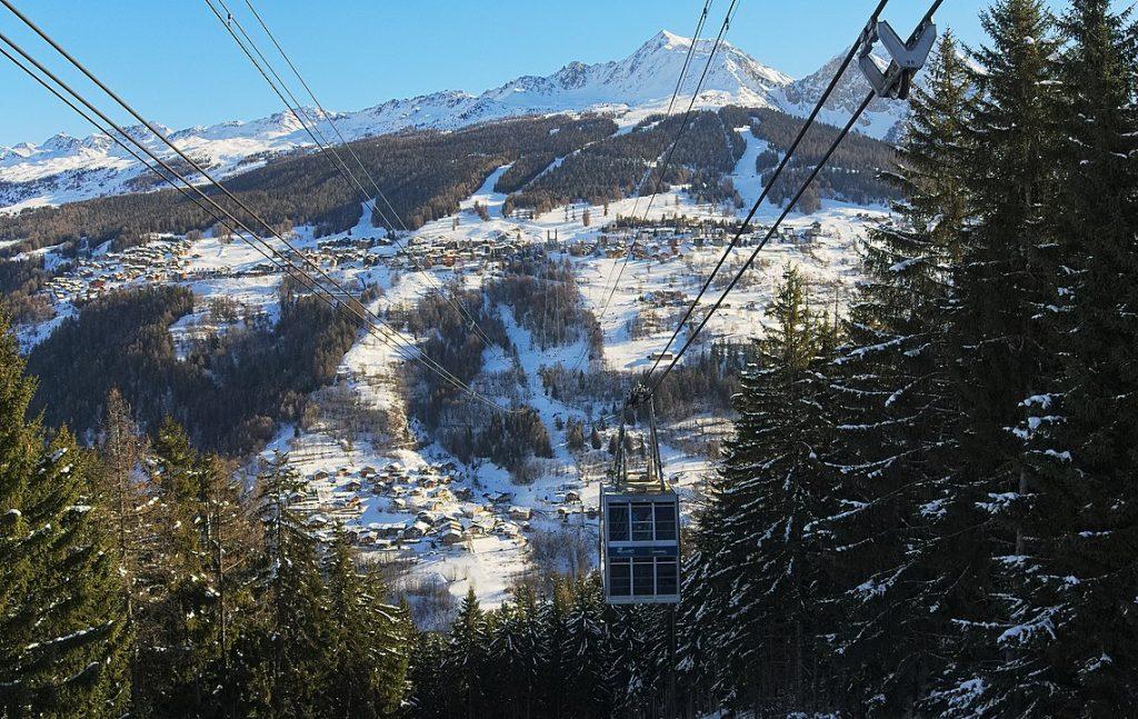 Station ski les Arcs